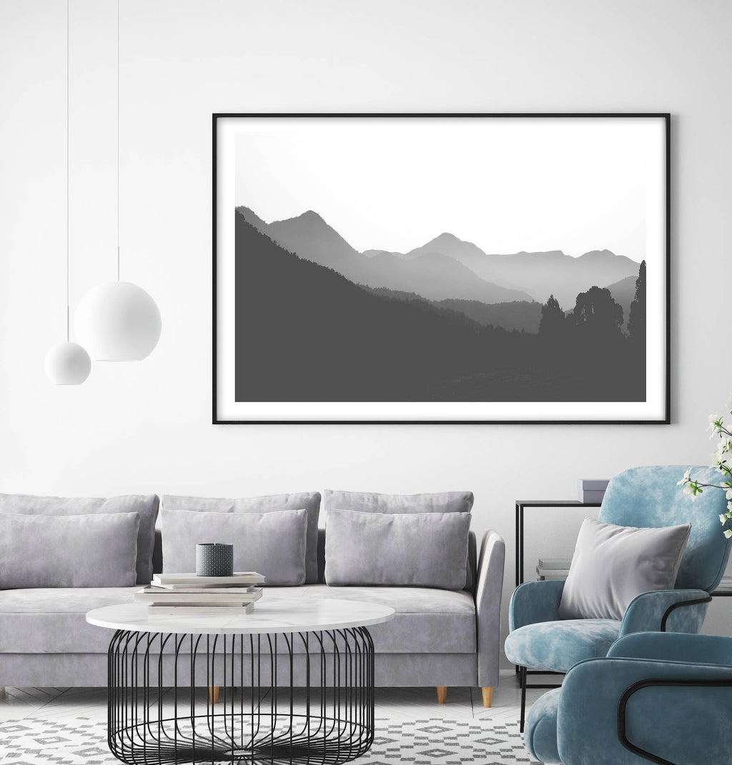 Mountain High LS - Olive et Oriel | Shop Art Prints & Posters Online