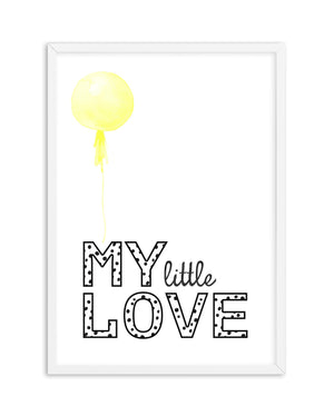 My Little Love | 4 Colour Option - Olive et Oriel | Shop Art Prints & Posters Online