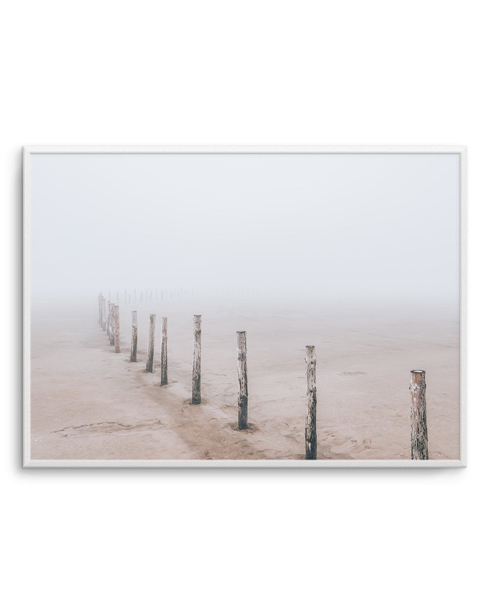 Nordic Seaside No 1 LS - Olive et Oriel | Shop Art Prints & Posters Online