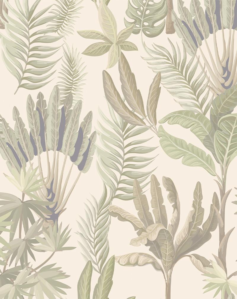 Palm Jungle Wallpaper - Olive et Oriel