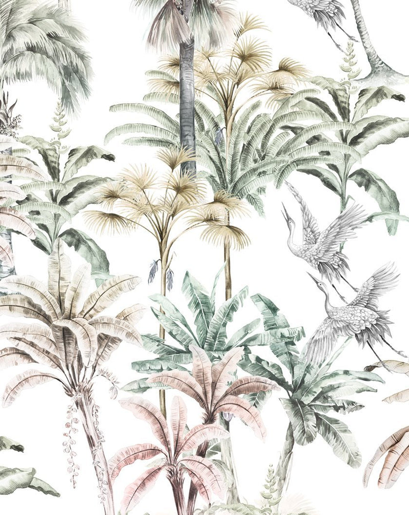 Palm Oasis Wallpaper - Olive et Oriel