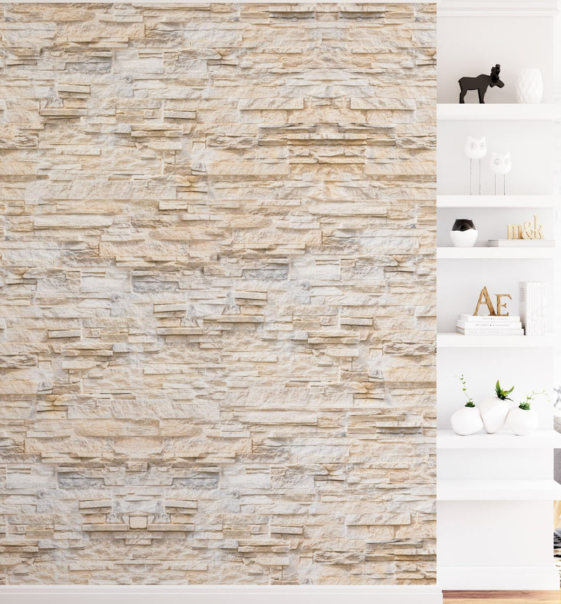 Palm Springs Sandstone Wall Wallpaper - Olive et Oriel