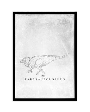 Parasaurolophus PT | Dinosaur Collection - Olive et Oriel | Shop Art Prints & Posters Online
