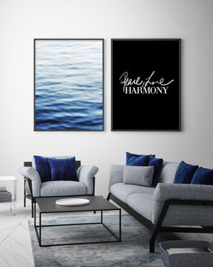 Peace, Love, Harmony - Olive et Oriel | Shop Art Prints & Posters Online