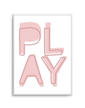 Play | Blush - Olive et Oriel | Shop Art Prints & Posters Online