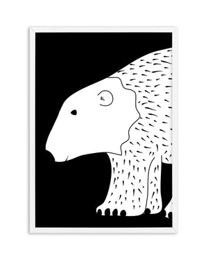 Polar Bear - Olive et Oriel | Shop Art Prints & Posters Online
