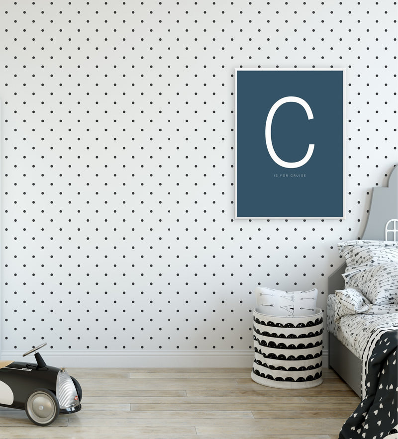 Polka Dot Wallpaper - Olive et Oriel