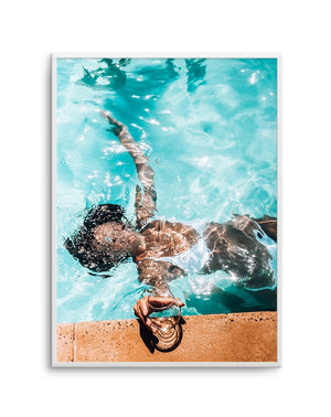 Poolside Bliss - Olive et Oriel | Shop Art Prints & Posters Online