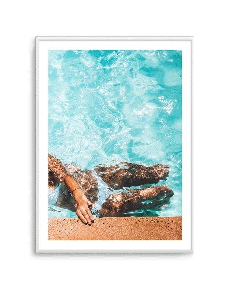 Poolside Bliss II - Olive et Oriel | Shop Art Prints & Posters Online