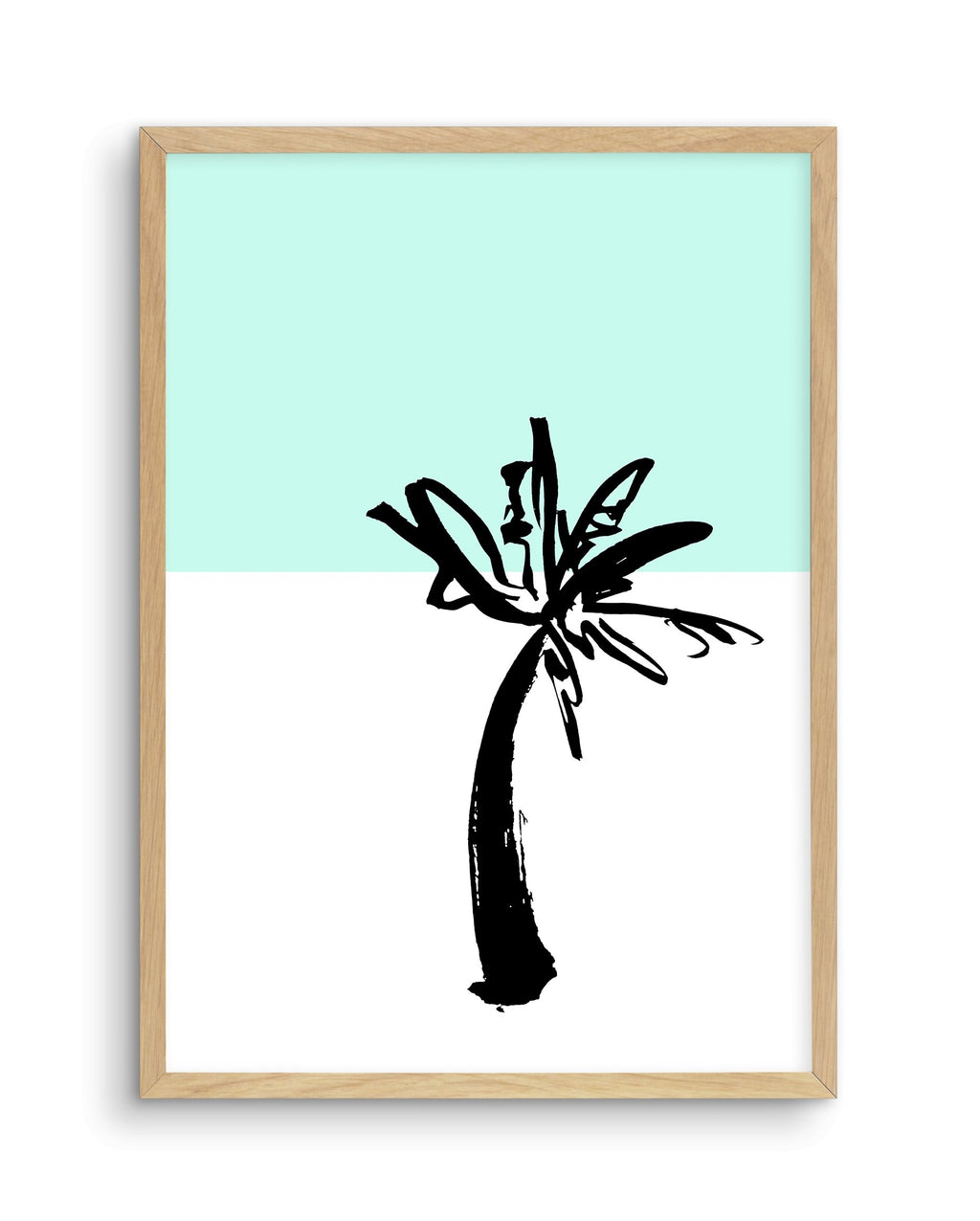 Pop Art Palm Tree - Olive et Oriel | Shop Art Prints & Posters Online