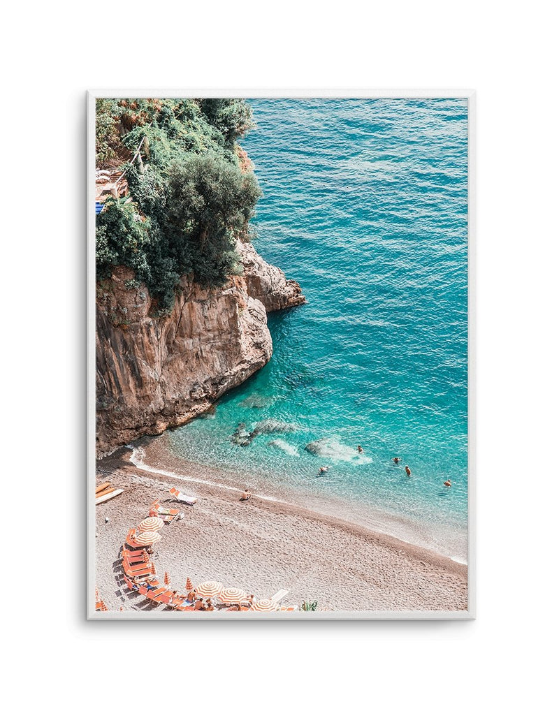 Positano Sands | Left PT - Olive et Oriel | Shop Art Prints & Posters Online