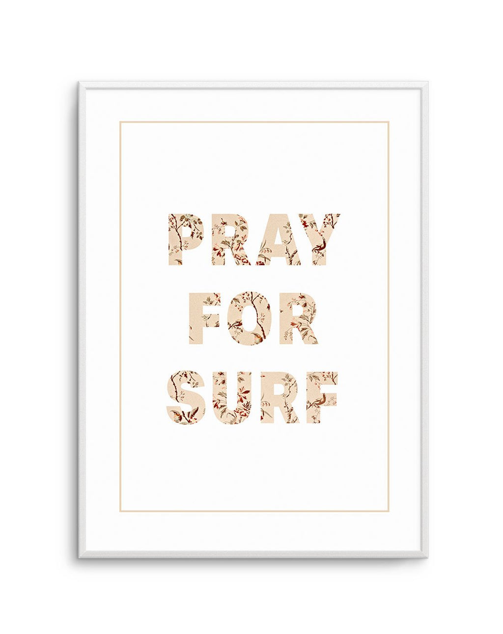 Pray for Surf | Pastel Vintage - Olive et Oriel