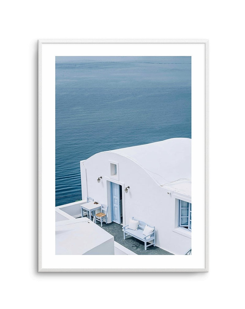 Santorini Blues PT - Olive et Oriel | Shop Art Prints & Posters Online