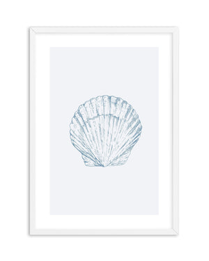 Seashell | Bay Scallop - Olive et Oriel | Shop Art Prints & Posters Online