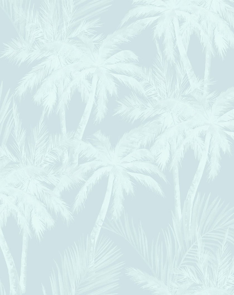 Seaside Palms Wallpaper - Olive et Oriel