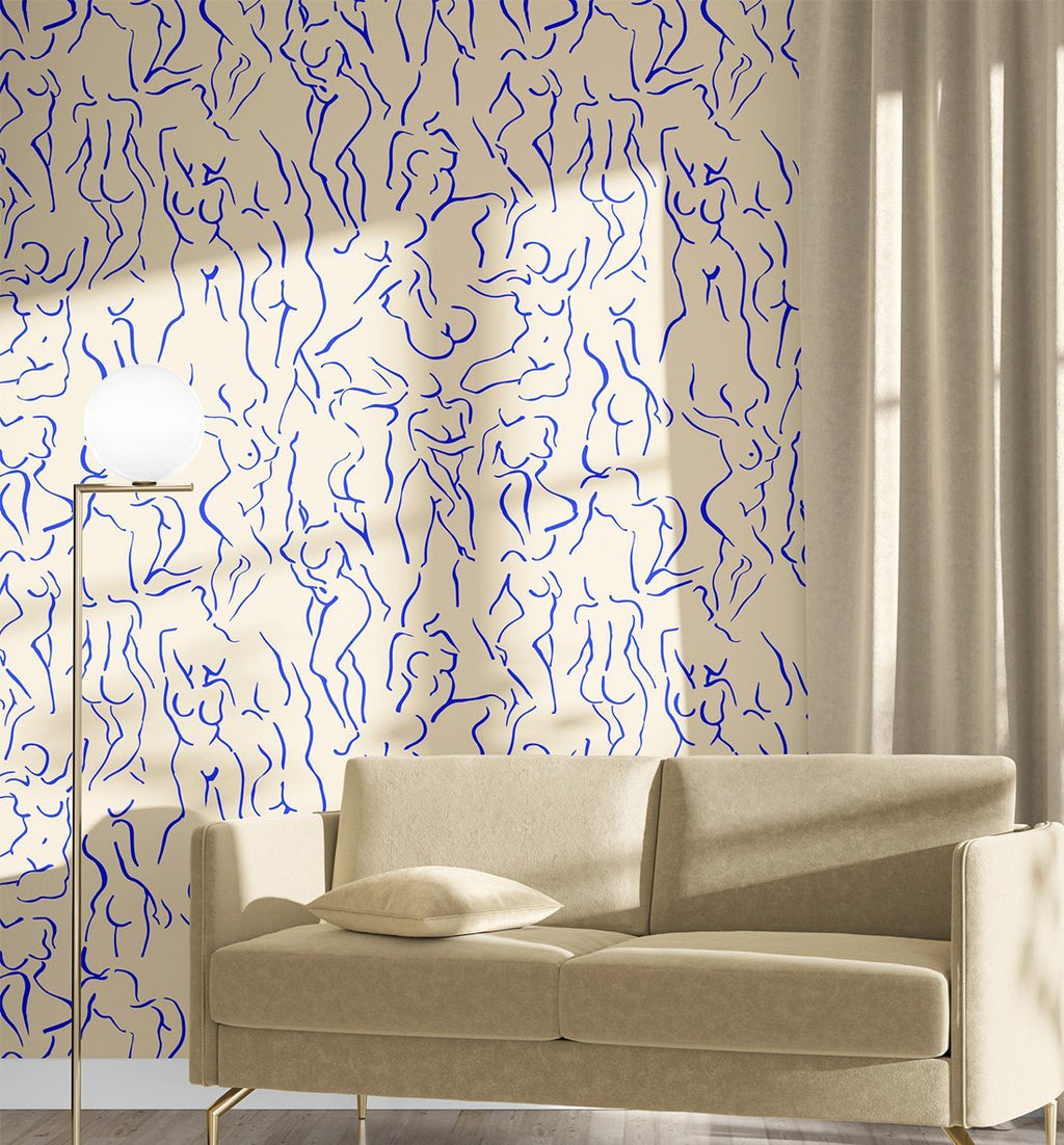 She loved Matisse Wallpaper - Olive et Oriel