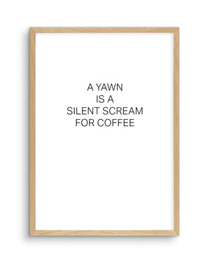 SILENT SCREAM - Olive et Oriel | Shop Art Prints & Posters Online