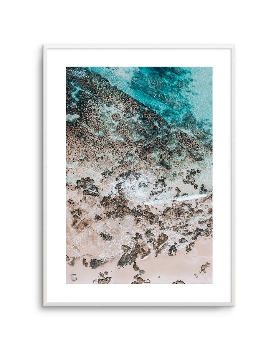 Slice of Blue - Olive et Oriel | Shop Art Prints & Posters Online