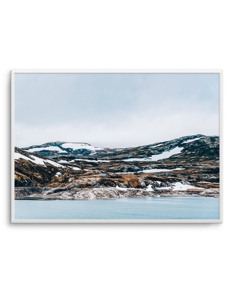 Snow By The Sea - Olive et Oriel | Shop Art Prints & Posters Online
