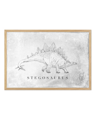 Stegosaurus | Dinosaur Collection - Olive et Oriel | Shop Art Prints & Posters Online