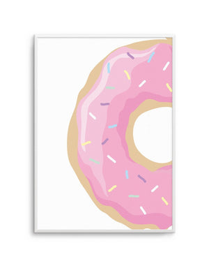 Strawberry Donut - Olive et Oriel | Shop Art Prints & Posters Online