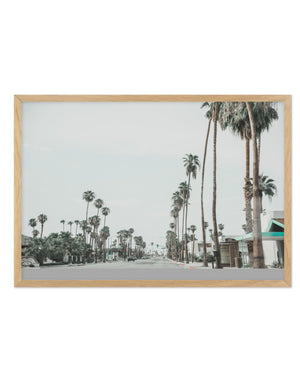 Streets of Palm Springs - Olive et Oriel | Shop Art Prints & Posters Online
