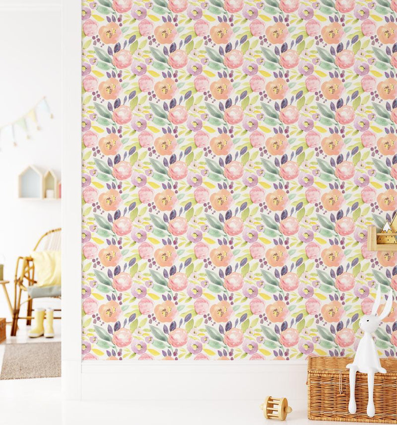 Summer Garden Wallpaper - Olive et Oriel