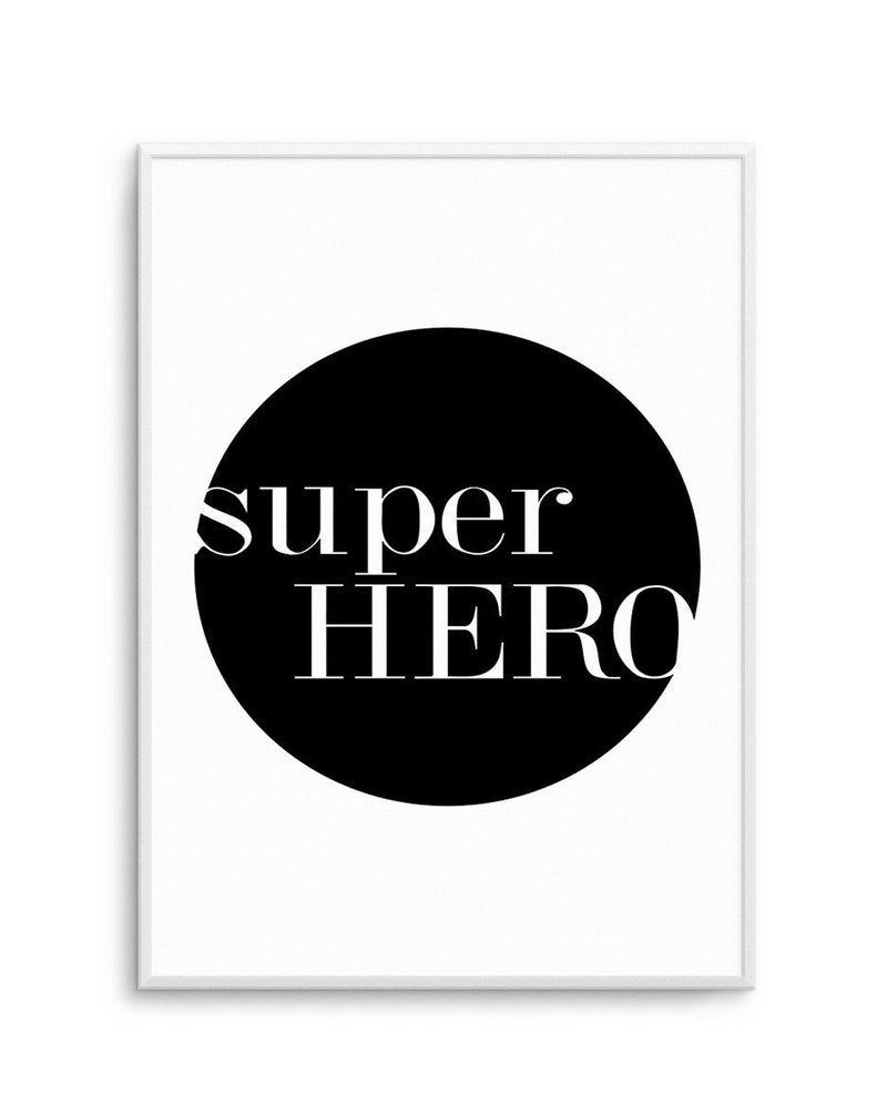 Super Hero - Olive et Oriel | Shop Art Prints & Posters Online