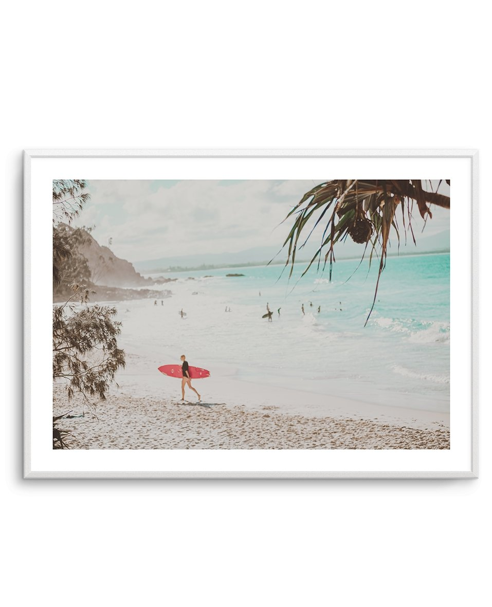 Surfer Girls | Wategos - Olive et Oriel | Shop Art Prints & Posters Online