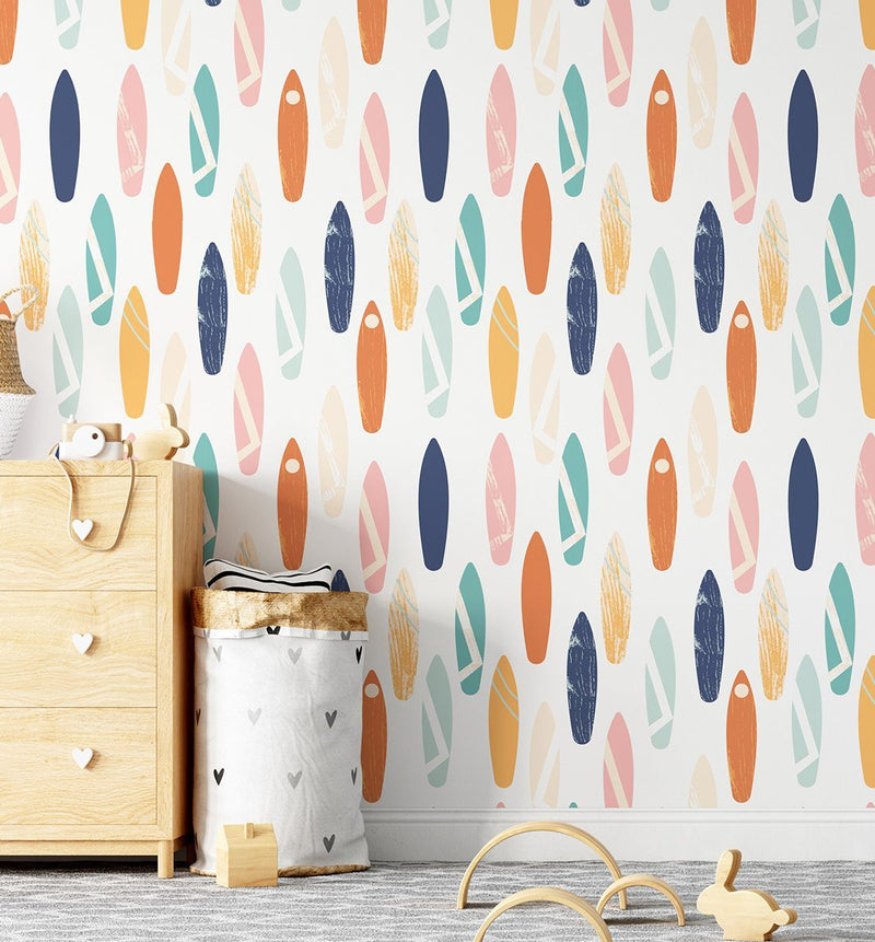 Surfs Up Wallpaper - Olive et Oriel