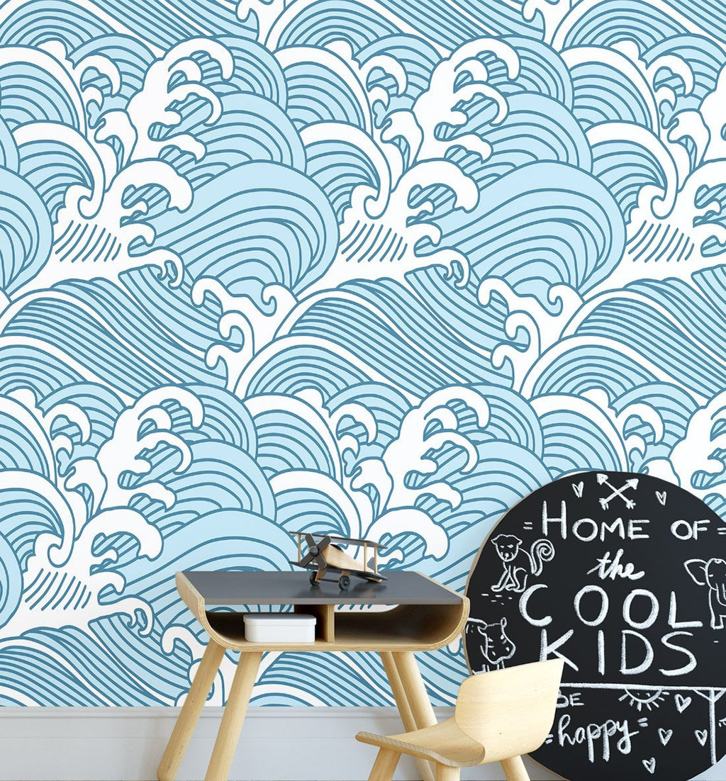 Swell Wallpaper - Olive et Oriel