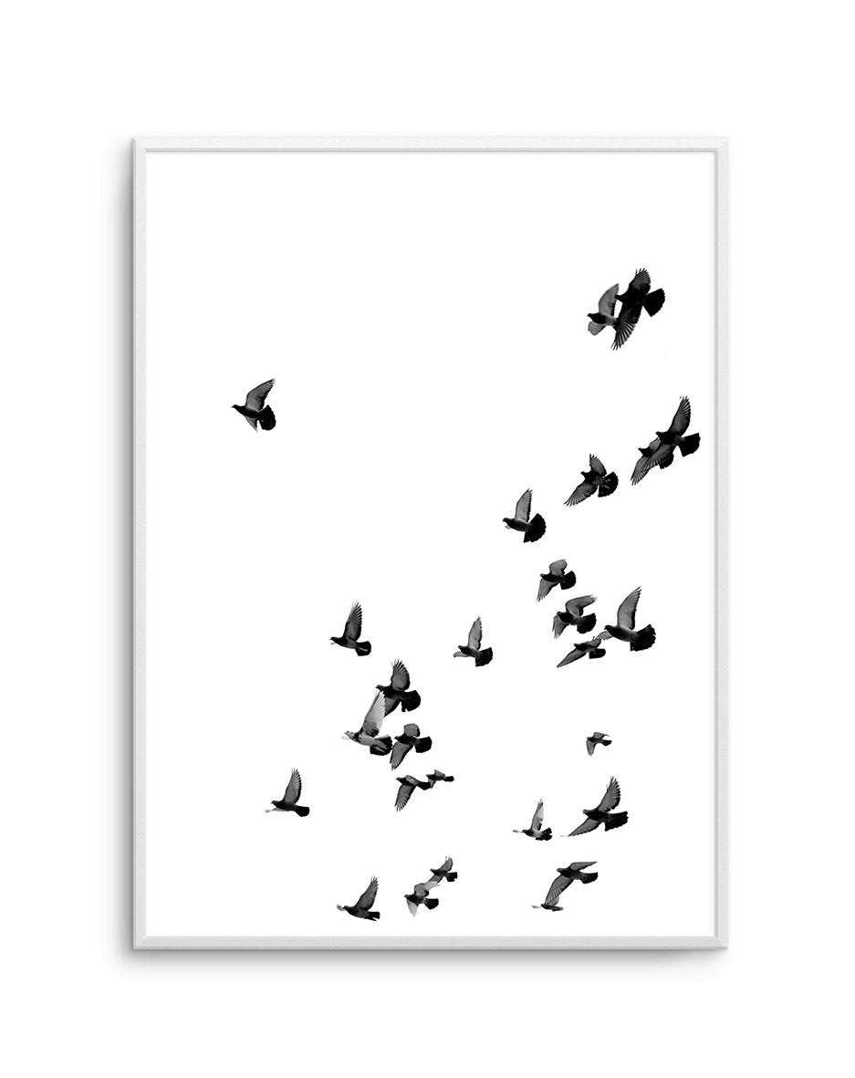 The Flight | PT - Olive et Oriel | Shop Art Prints & Posters Online