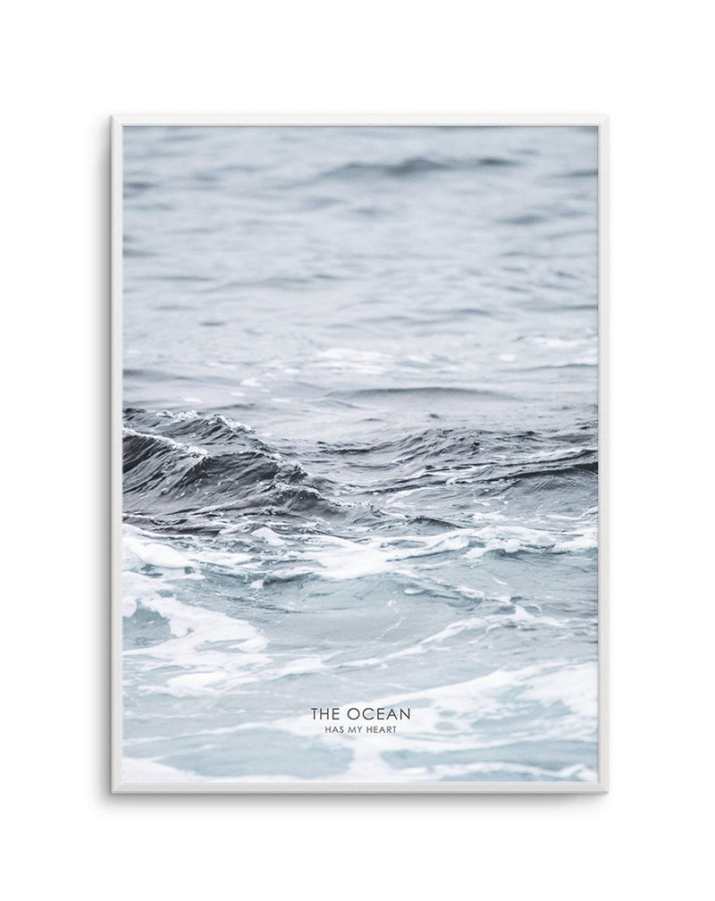 The Ocean Has My Heart - Olive et Oriel | Shop Art Prints & Posters Online