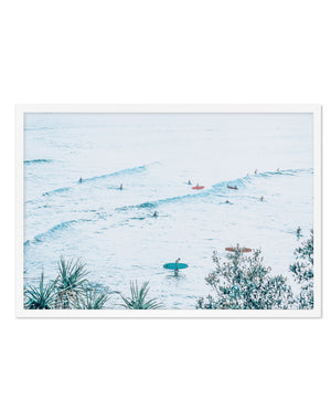 The Pass | Fun Waves - Olive et Oriel | Shop Art Prints & Posters Online