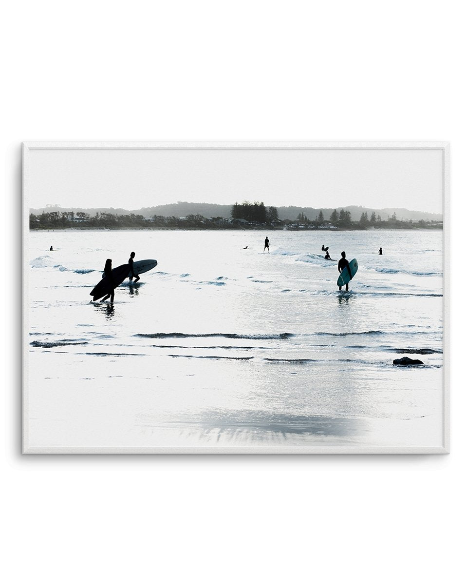 The Pass | Late Surf - Olive et Oriel | Shop Art Prints & Posters Online