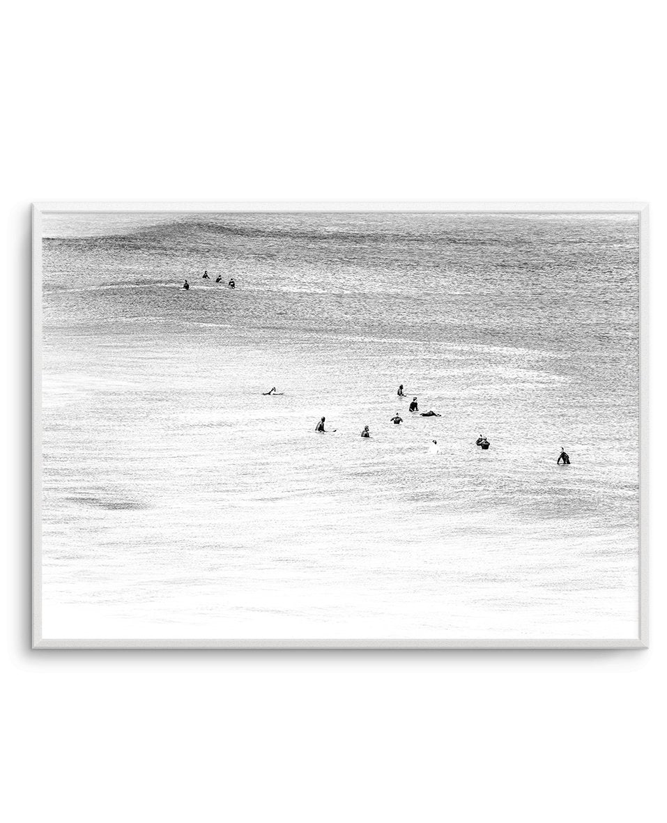 The Wait | Bondi B&W - Olive et Oriel | Shop Art Prints & Posters Online