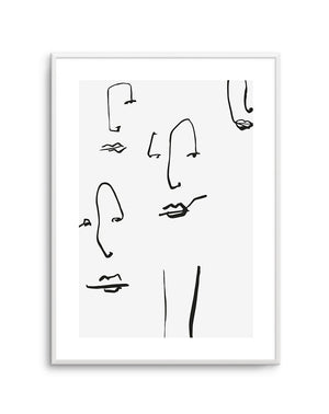 Their Faces No 1 - Olive et Oriel | Shop Art Prints & Posters Online