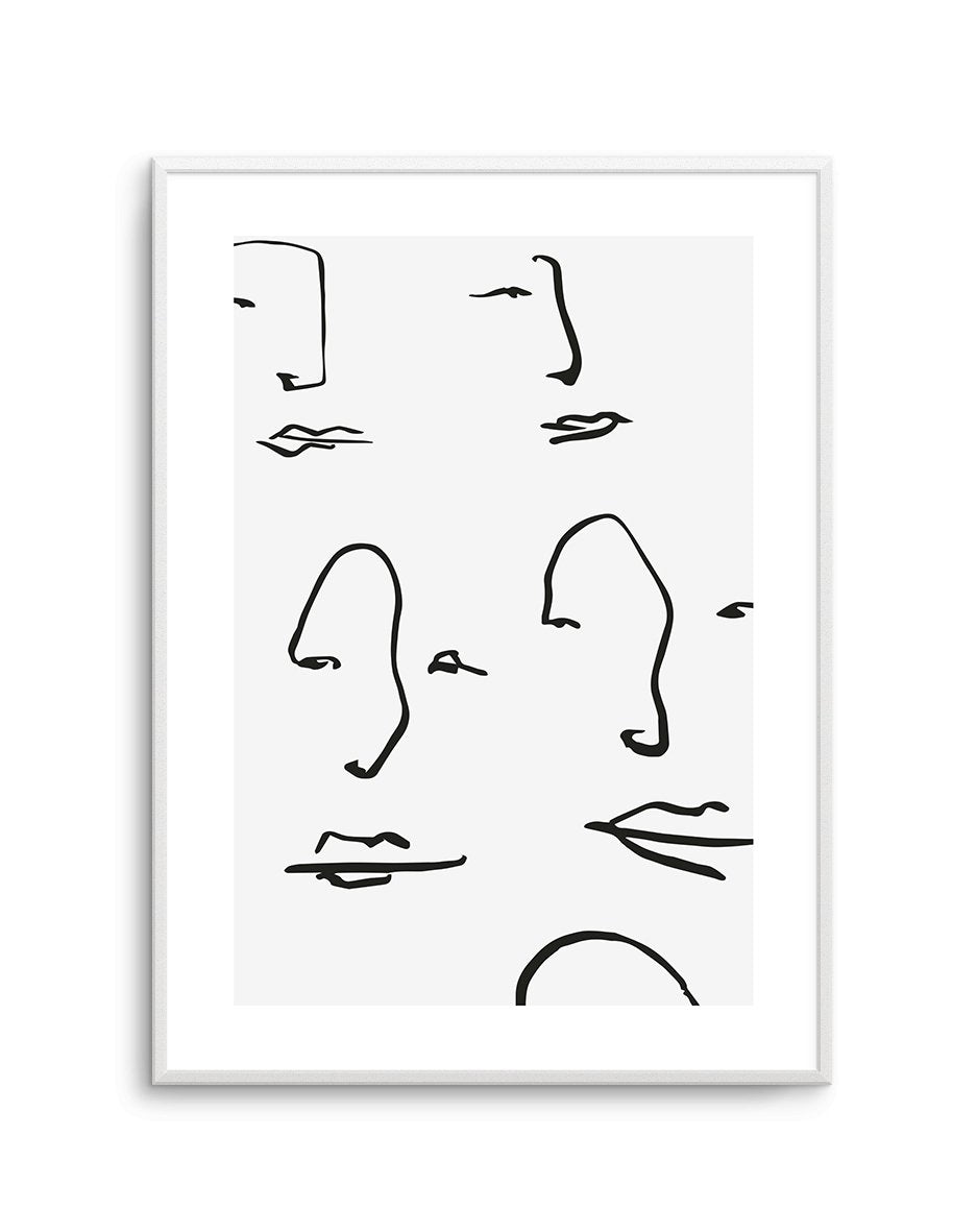 Their Faces No 2 - Olive et Oriel | Shop Art Prints & Posters Online