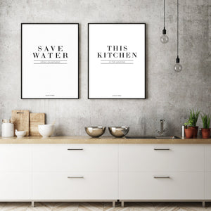 This Kitchen Is For Dancing - Olive et Oriel | Shop Art Prints & Posters Online