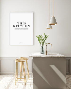 This Kitchen Is For Dancing - Olive et Oriel