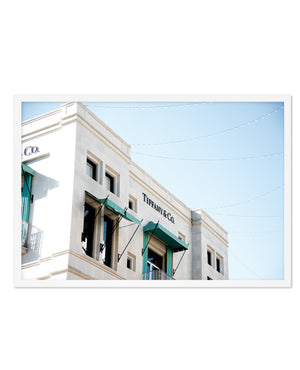 Tiffany & Co LS | Rodeo Drive - Olive et Oriel | Shop Art Prints & Posters Online