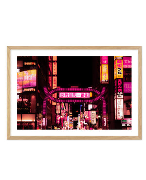 TOKYO RED LIGHT DISTRICT NO. 1 - Olive et Oriel | Shop Art Prints & Posters Online