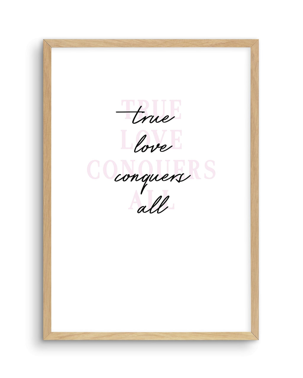 True Love Conquers All - Olive et Oriel | Shop Art Prints & Posters Online