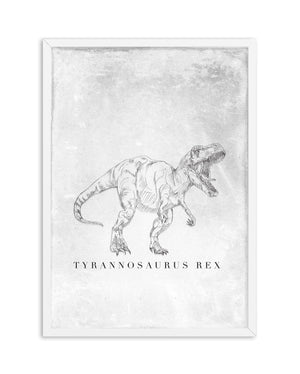 Tyrannosaurus Rex PT | Dinosaur Collection - Olive et Oriel | Shop Art Prints & Posters Online