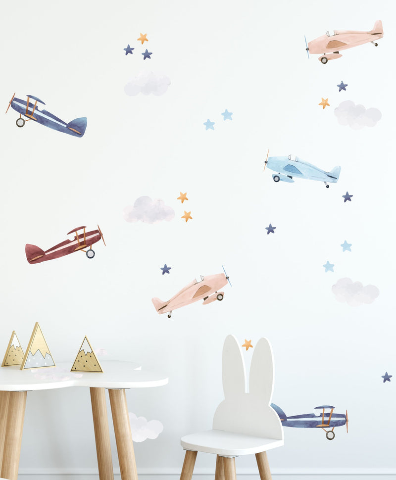 Up in the Sky Decal Set - Olive et Oriel