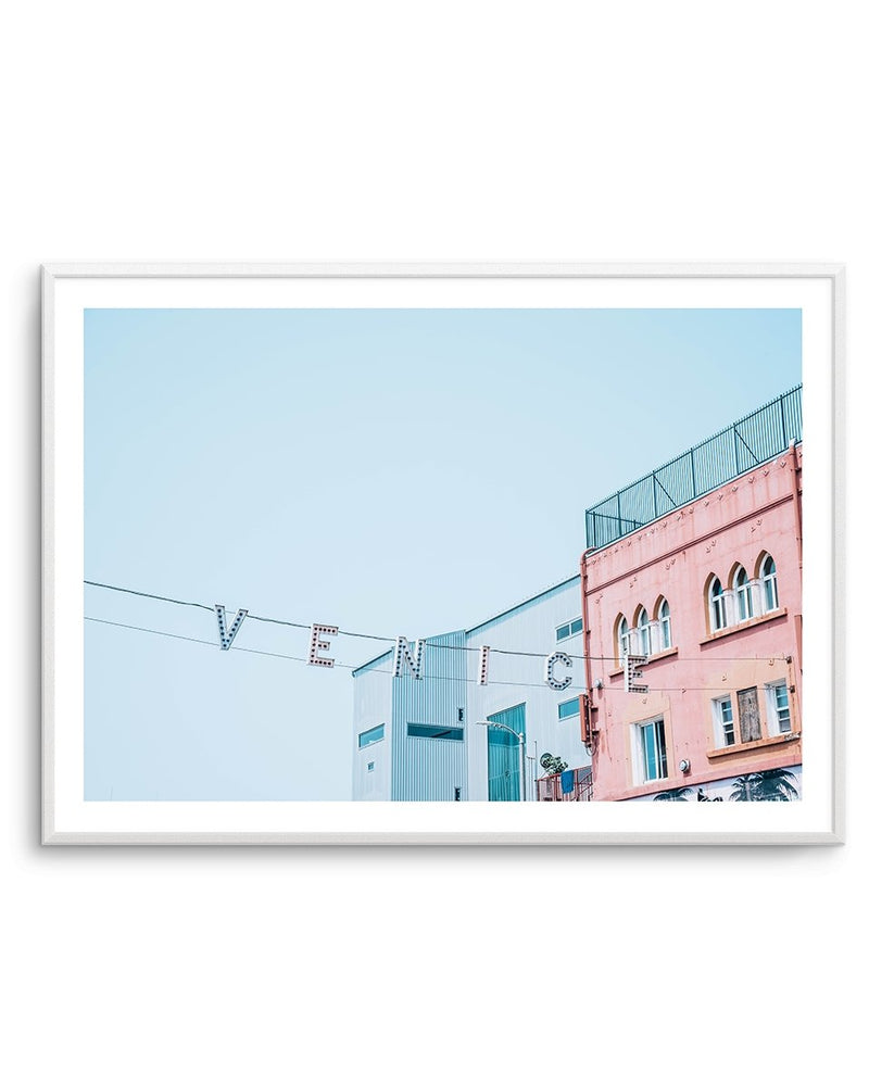 Venice Beach Sign No. 1 | LS - Olive et Oriel | Shop Art Prints & Posters Online