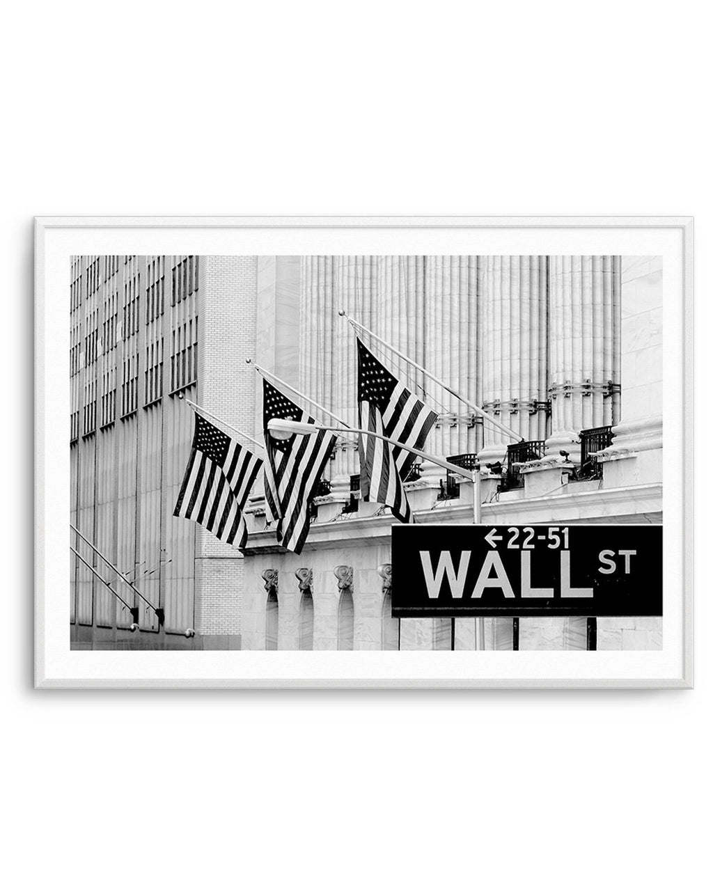 Wall Street Sign - Olive et Oriel