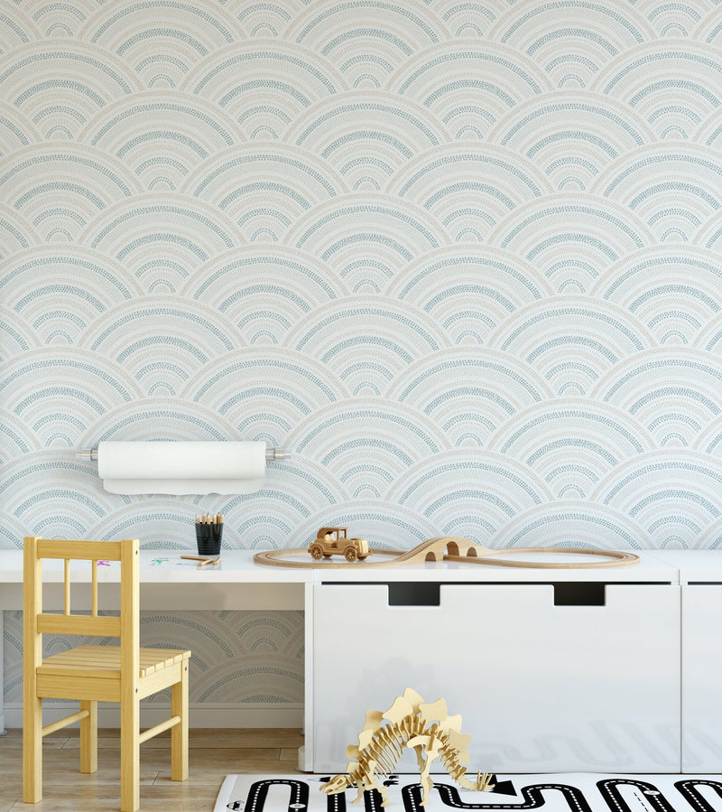 Water Rainbows Wallpaper - Olive et Oriel