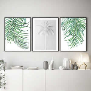 Watercolour Palms No 2 - Olive et Oriel | Shop Art Prints & Posters Online