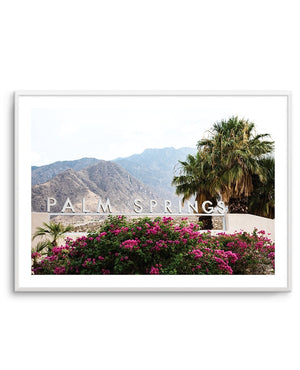 Welcome to Palm Springs - Olive et Oriel | Shop Art Prints & Posters Online